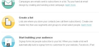 Create A New MailChimp List