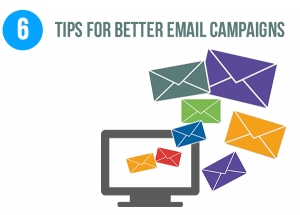 6 tips for a successful email campaign
